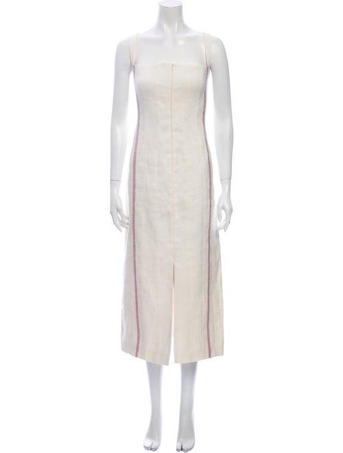 Brock Collection Linen Long Dress