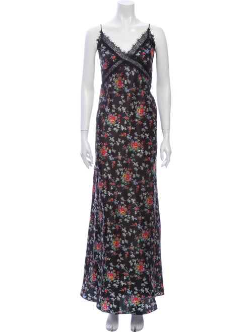 Brock Collection Silk Long Dress