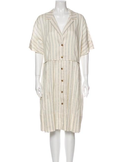 Brock Collection Linen Midi Length Dress