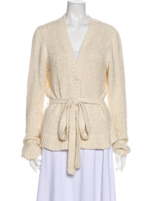 Brock Collection Silk V-Neck Sweater