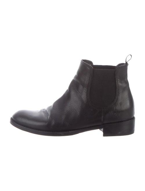 Amelia Toro Leather Chelsea Boots Black