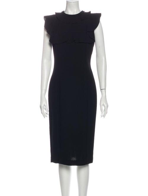 Amelia Toro Wool Midi Length Dress Wool