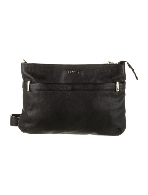 Tous Leather Crossbody Bag Black