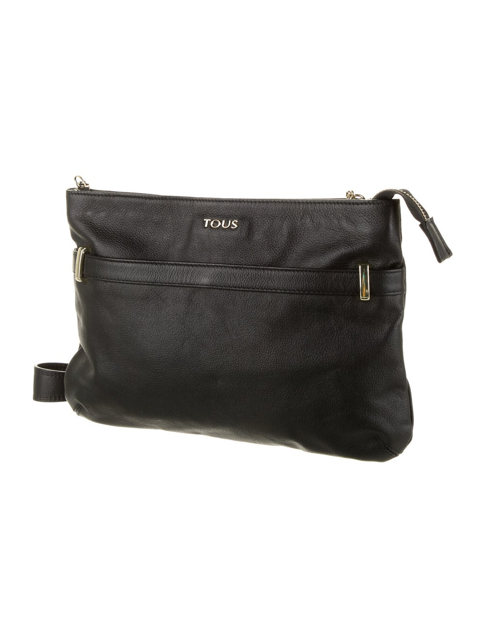 Tous Leather Crossbody Bag Black - image 3