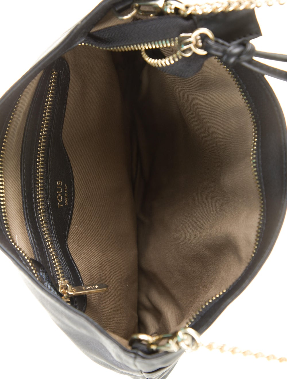 Tous Leather Crossbody Bag Black - image 5