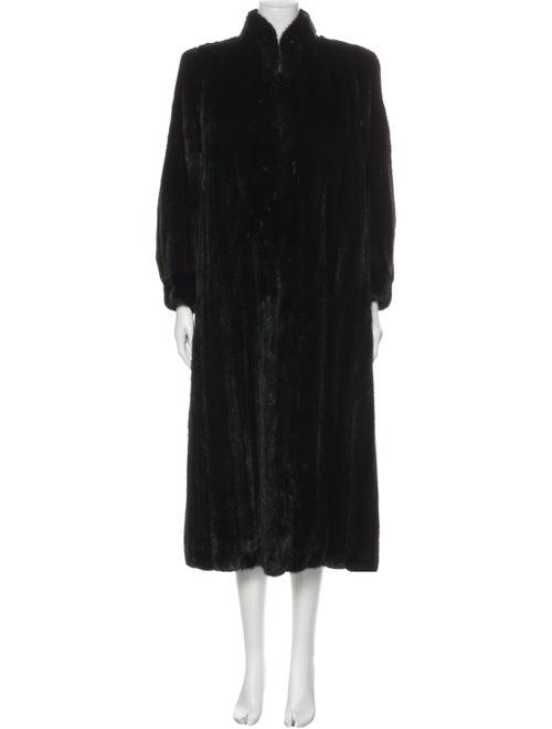 Coat Fur Coat Black
