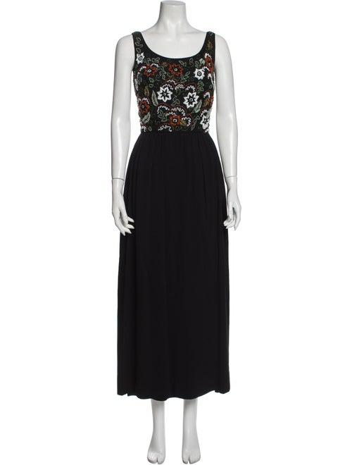 Dress Vintage Long Dress Black