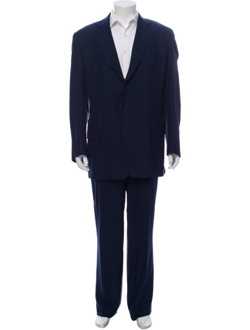 Silk Two-Piece Suit - image 1