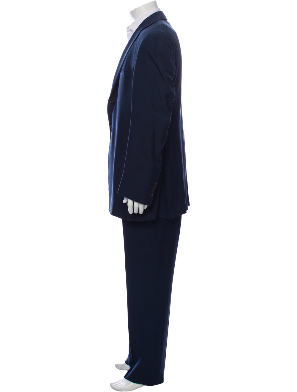 Silk Two-Piece Suit - image 2