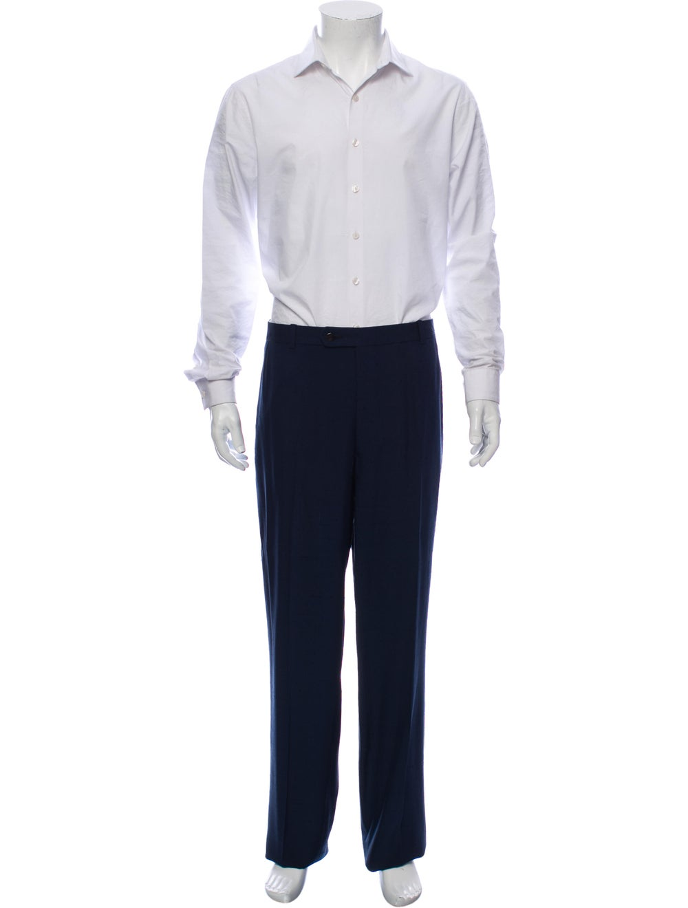 Silk Two-Piece Suit - image 4