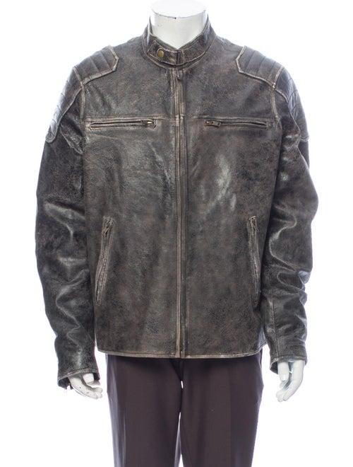 Jacket Moto Jacket Brown
