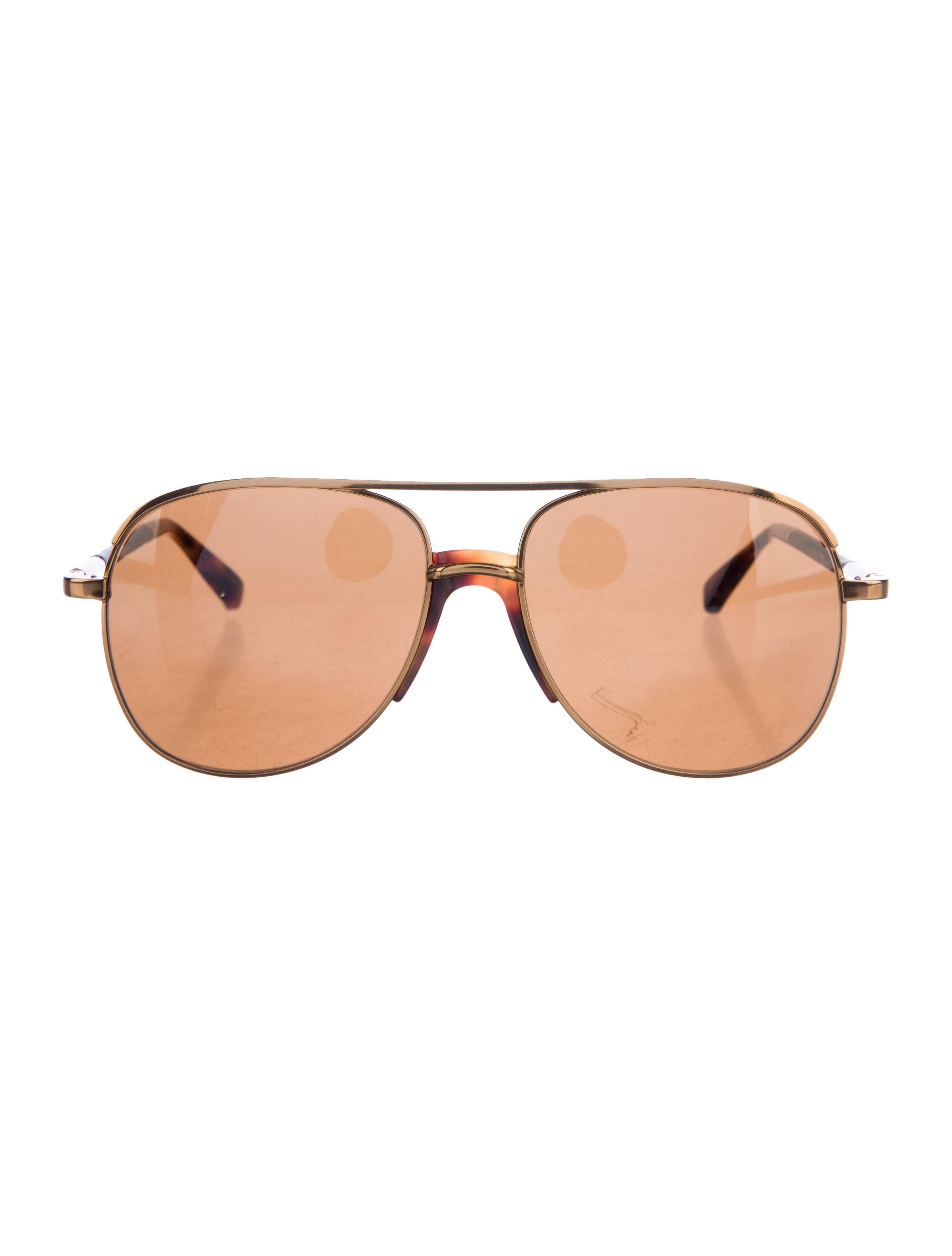 da98d1db5508 ... The Row x Linda Farrow Aviator Tinted Sunglasses. Aviator Tinted  Sunglasses