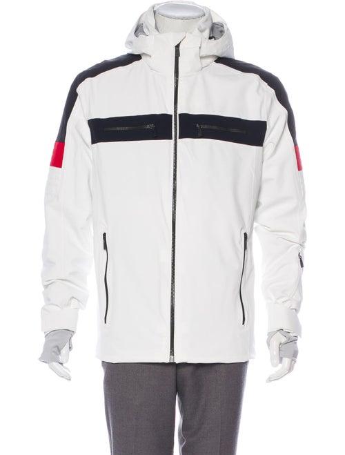 Toni Sailer Padded Hooded Jacket white