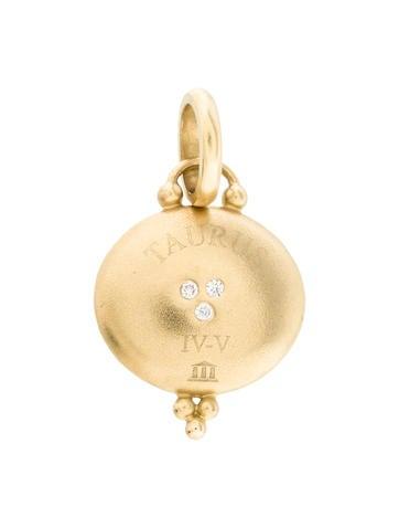 Temple St. Clair Diamond  Taurus Pendant