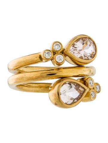 Temple St. Clair Diamond Mummy Ring
