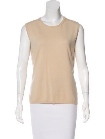 TSE Cashmere Cashmere Sleeveless Sweater None