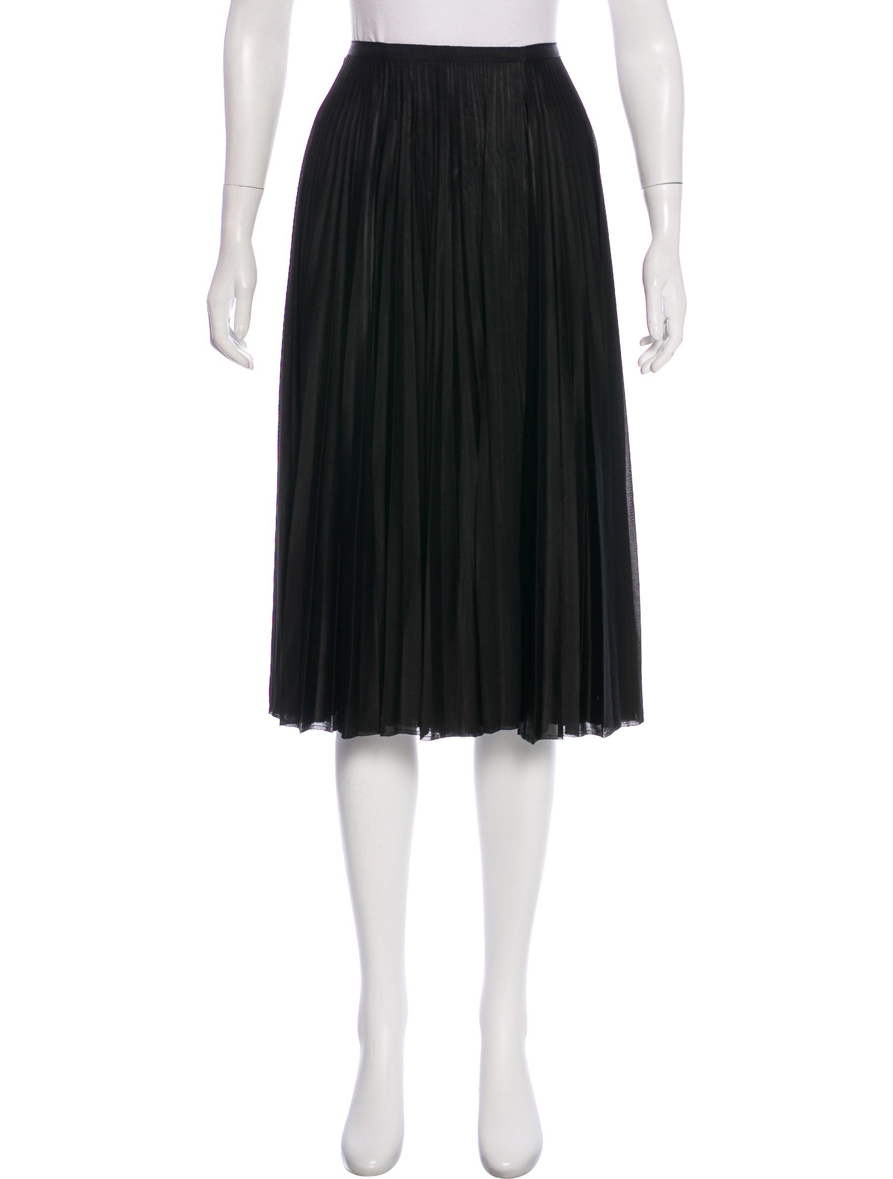 e1549d6c77 TSE Cashmere Pleated Midi Skirt - Clothing - TSCHG21061 | The RealReal