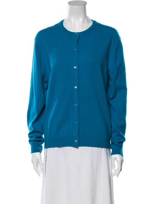 TSE Cashmere Cashmere Crew Neck Sweater Blue