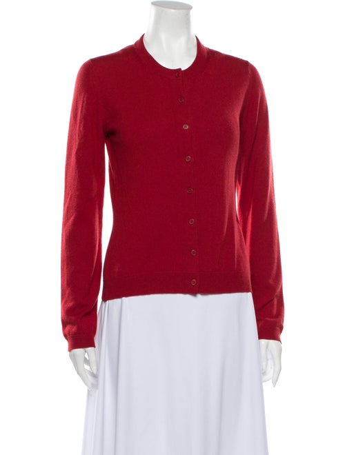 TSE Cashmere Cashmere Crew Neck Sweater Red