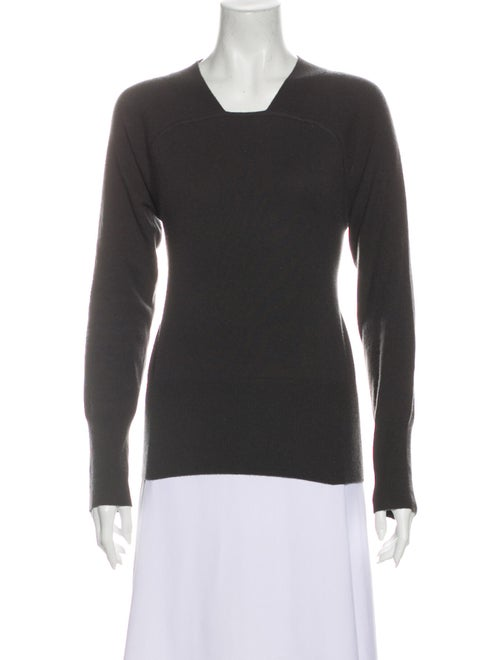 TSE Cashmere Cashmere V-Neck Sweater Grey