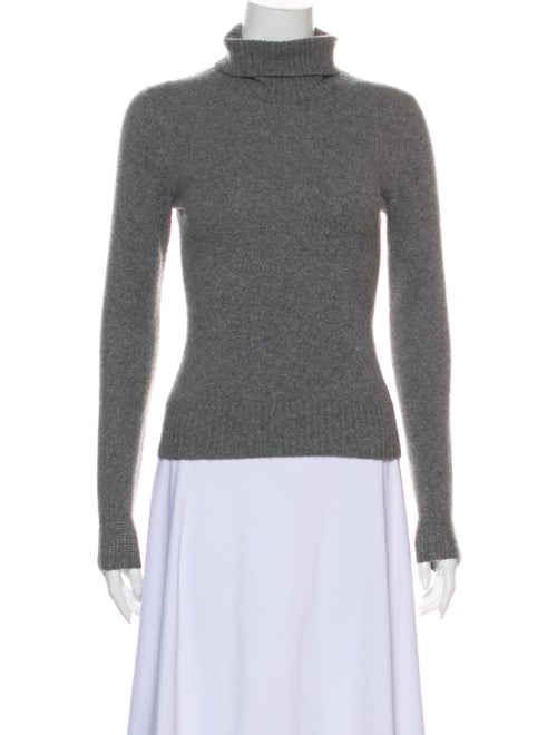 TSE Cashmere Turtleneck Sweater Grey