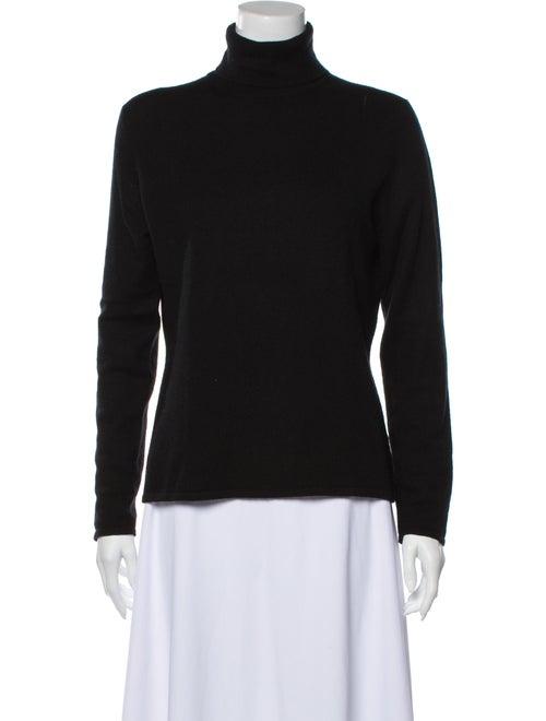 TSE Cashmere Cashmere Turtleneck Sweater Black