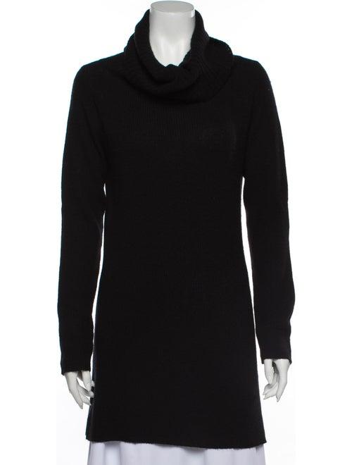 TSE Cashmere Cashmere Cowl Neck Sweater Black