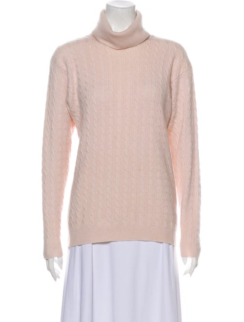TSE Cashmere Cashmere Turtleneck Sweater Pink