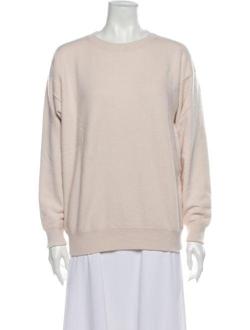 TSE Cashmere Cashmere Crew Neck Sweater Pink