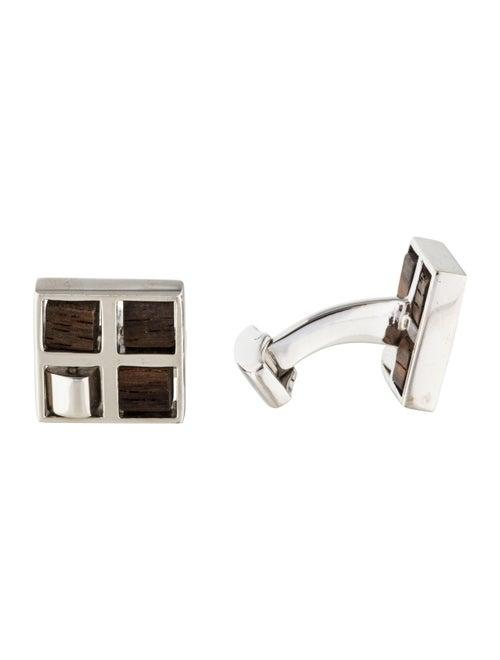 Tateossian Swivel Windows Cufflinks silver