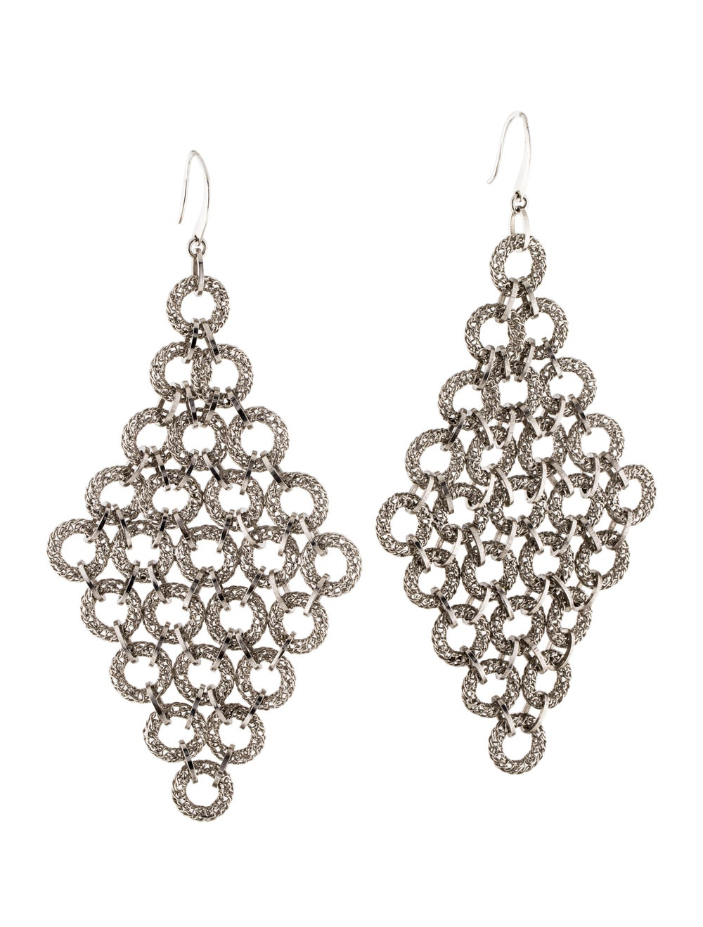 Tateossian Chandelier Earrings silver - image 3