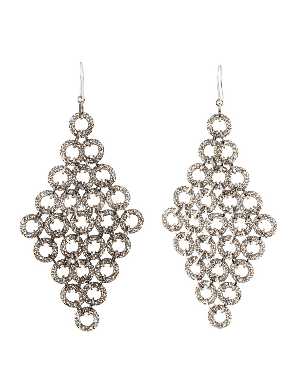 Tateossian Chandelier Earrings silver - image 4