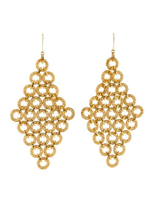 Tateossian Chandelier Earrings Gold