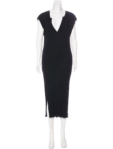 Totême Sleeveless Midi Dress None