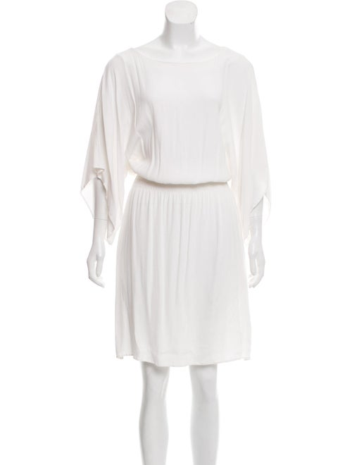 Totême Dolman Sleeve Midi Dress White