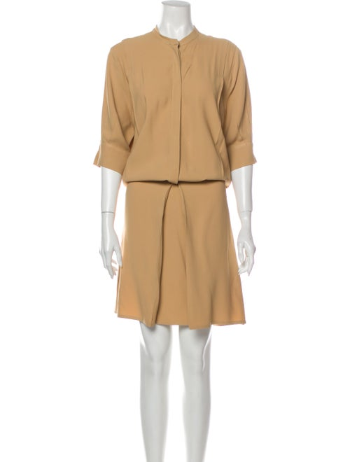 Totême Crew Neck Knee-Length Dress