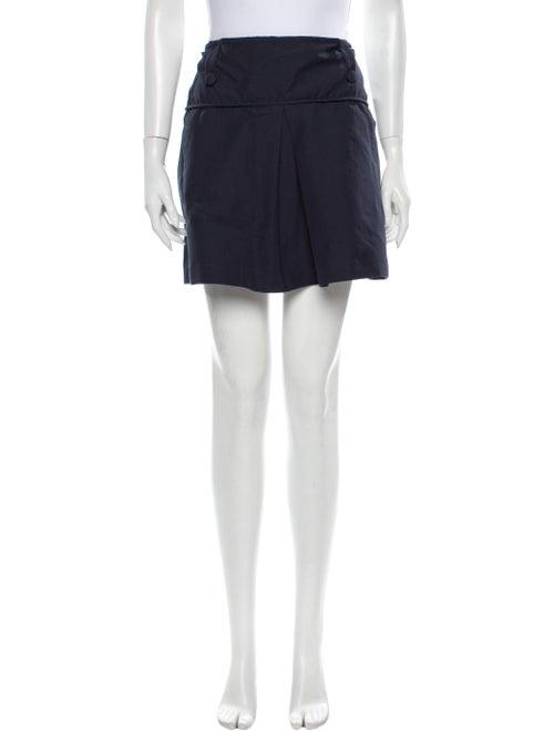 Totême Mini Skirt Blue