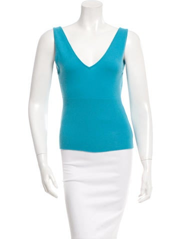 Tuleh Knit Sleeveless Top None