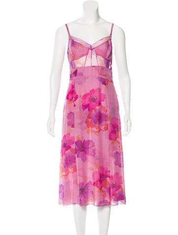 Tuleh Printed Midi Dress