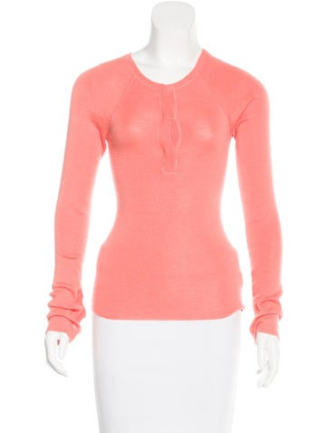 Tuleh Cashmere & Silk-Blend Long Sleeve Top None