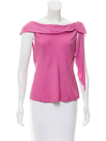 Tuleh Bow-Accented Sleeveless Top None
