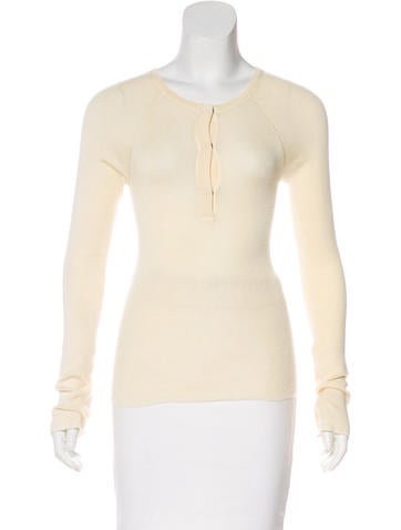 Tuleh Cashmere & Silk-Blend Sweater None