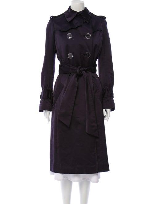 Tuleh Trench Coat Blue