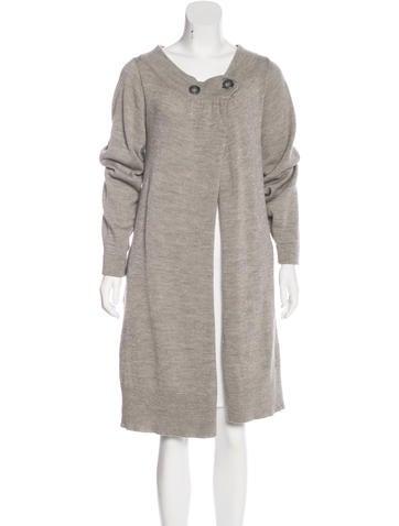 Tsumori Chisato Wool Metallic Knit Cardigan None