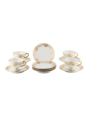 12-Piece Royal Rudolstadt Cup & Saucer None
