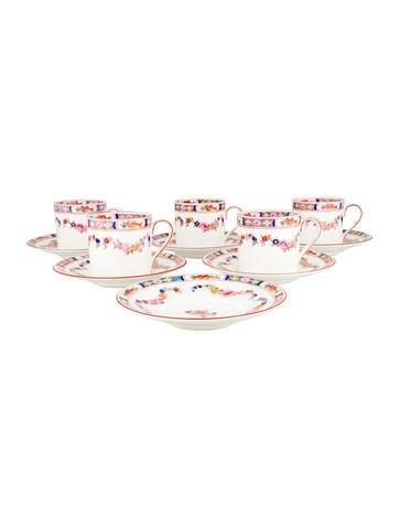 Tableware Minton Rose Demitasse Service None