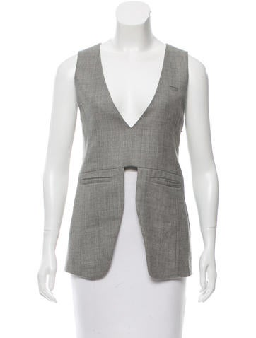 Undercover Wool Sleeveless Top None