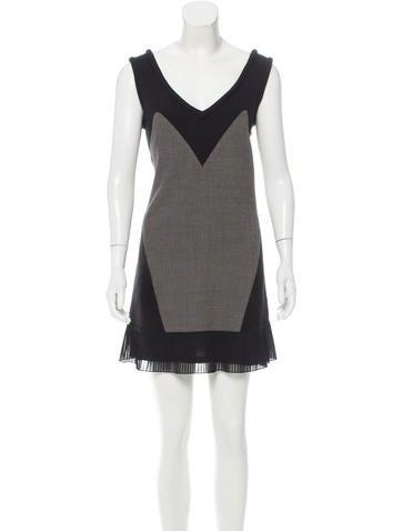 Undercover Wool Mini Dress None