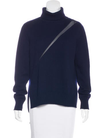 Undercover Silk-Trimmed Wool Sweater None