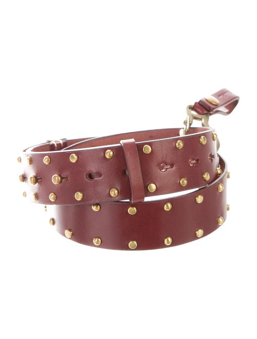 Undercover Leather Hip Belt
